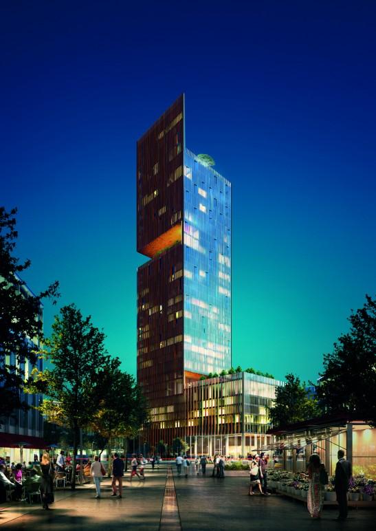 Manhattan Loft Gardens Apartments, London for Bouygues